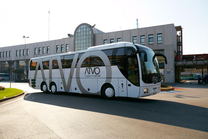 Trasporto extraurbano: ATVO prima in Italia