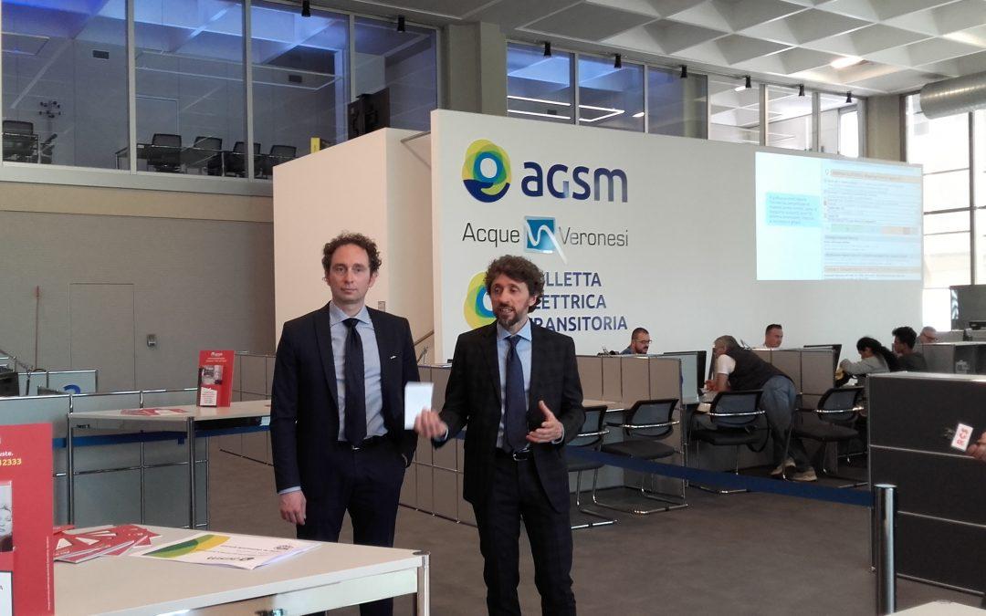 Agsm e Acli Verona siglano un protocollo d'intesa per informare ed orientare i cittadini