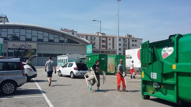 Sabati Ecologici AcegasApsAmga a Padova Arcella:  raccolte oltre 4 tonnellate di ingombranti