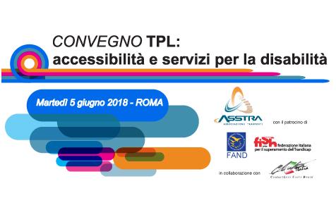 Importante convegno a Roma sull'accessibilità e i servizi per la disabilità nel TPL