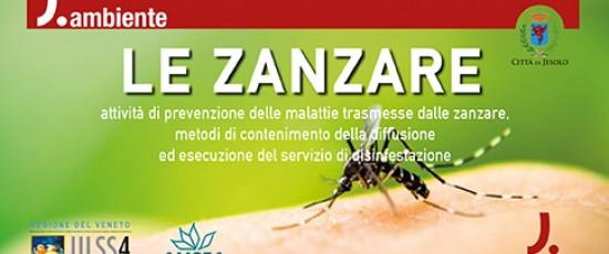 Incontro pubblico sulle Zanzare e la prevenzione a Jesolo