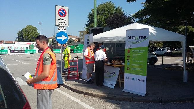 Sabato Ecologico del 30 giugno a Padova: raccolte oltre 4,7 tonnellate di ingombranti