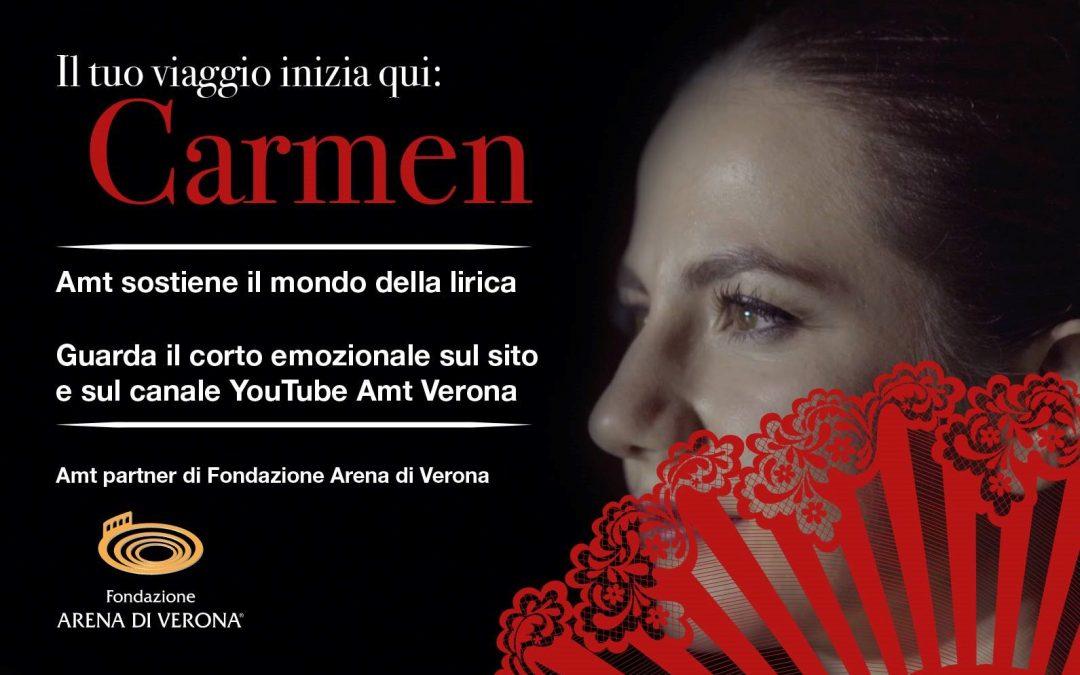 Carmen: il cortometraggio emozionale di AMT