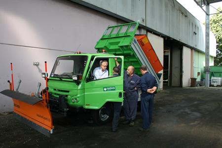 Due nuovi veicoli per terreni sconnessi in Amia
