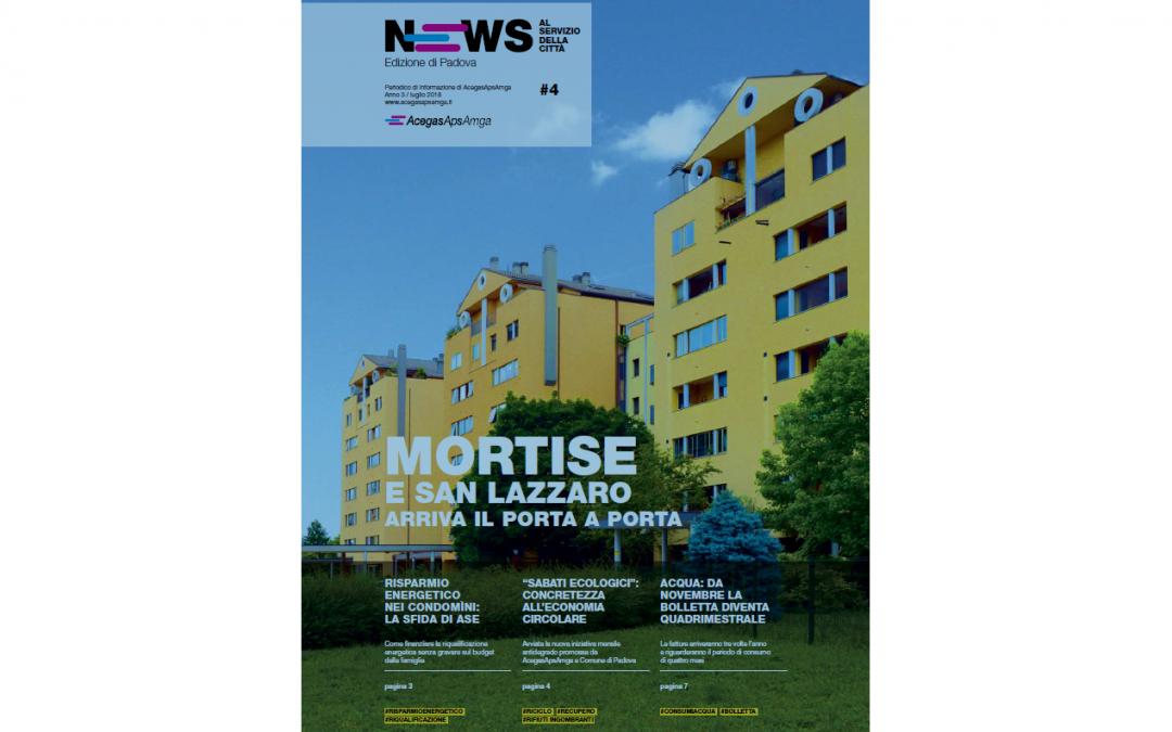 AcegasApsAmga: in arrivo il 4° numero di News – Al servizio della città