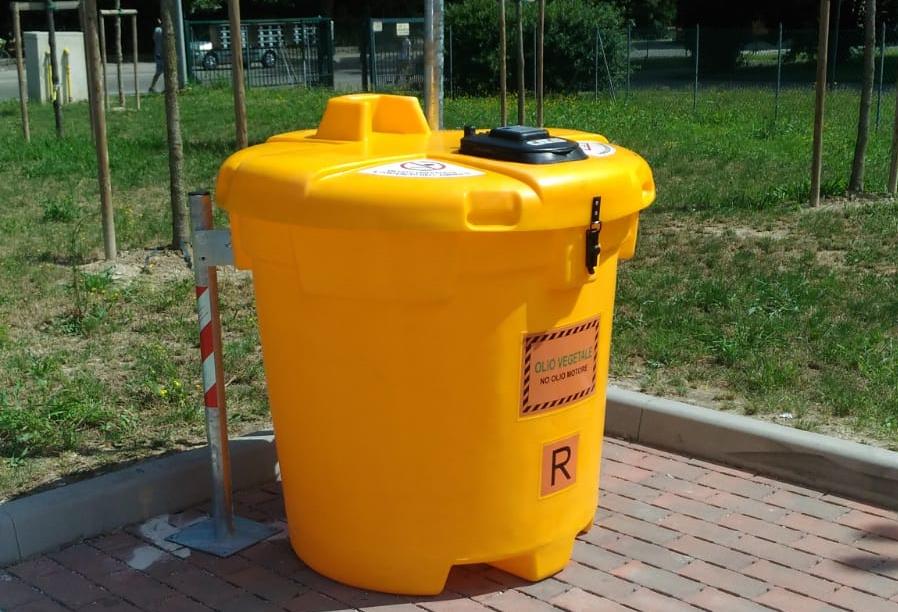 AcegasApsAmga potenzia a Padova la visibilità dei punti di raccolta stradale degli oli alimentari