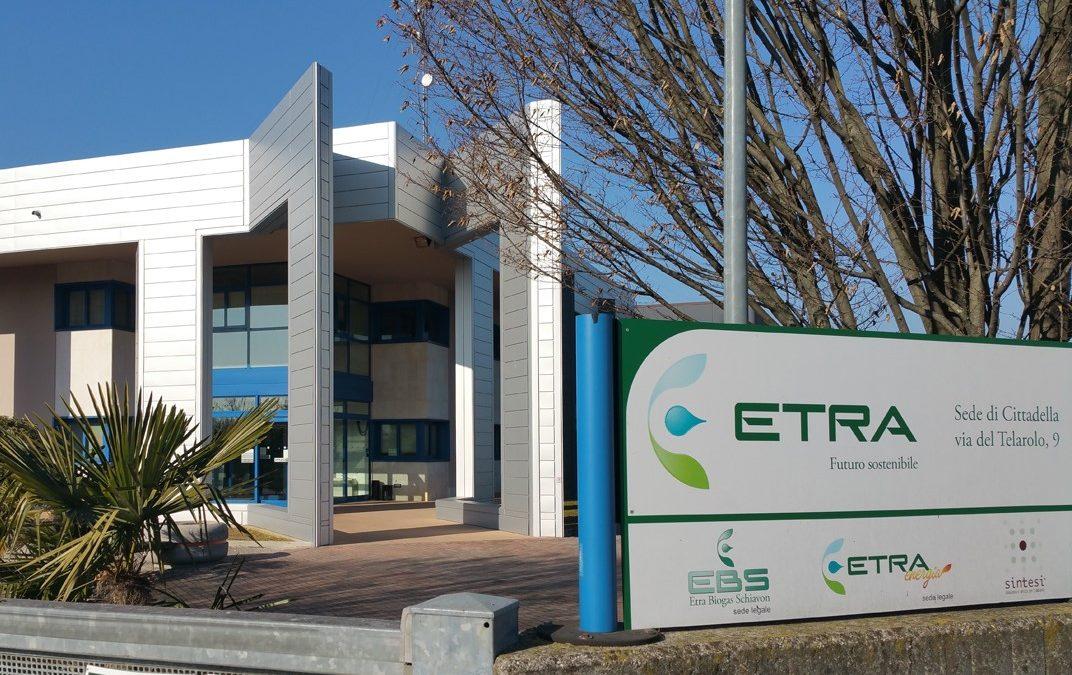 Autoprodotto un quinto dell'energia utilizzata da Etra