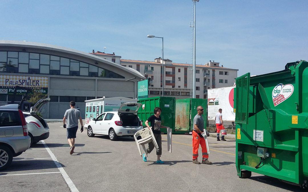 Sabato Ecologico del 28 luglio: AcegasApsAmga raccolte oltre 4,5 tonnellate di ingombranti