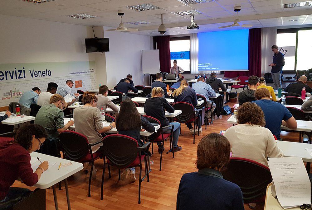 Esami per 264 studenti universitari al Polo Tecnologico di Confservizi Veneto