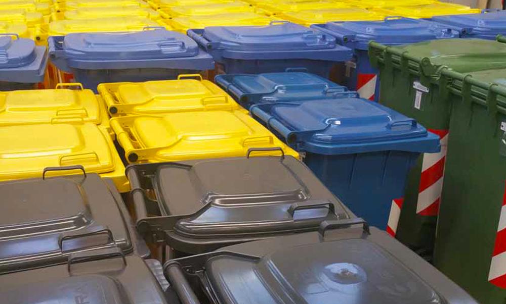 A Montegrotto Terme continua la distribuzione dei nuovi contenitori rifiuti