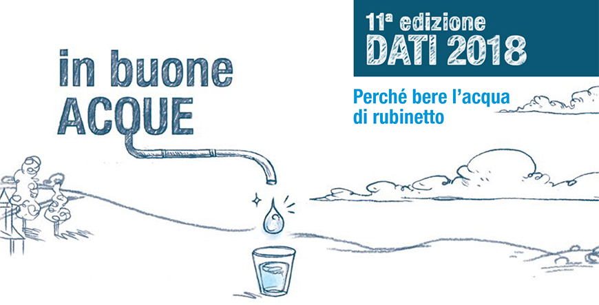 AcegasApsAmga: disponibile il report che racconta l'acqua bevuta dai padovani