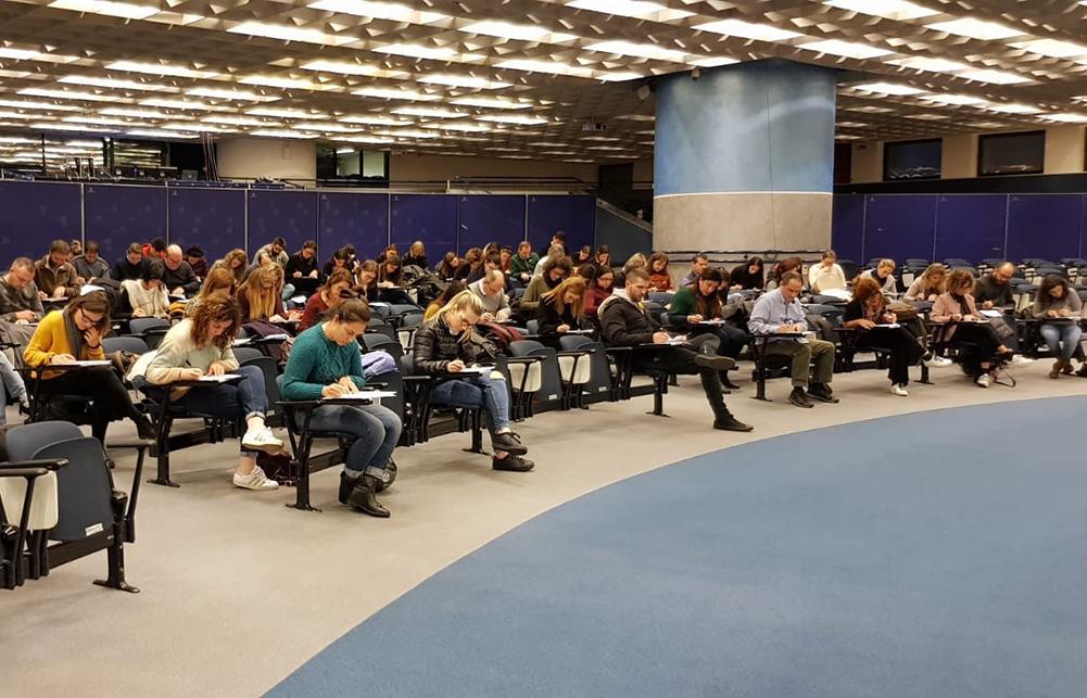 Questa mattina le prove scritte di due selezioni svolte da Confservizi Veneto per l'associata AMT