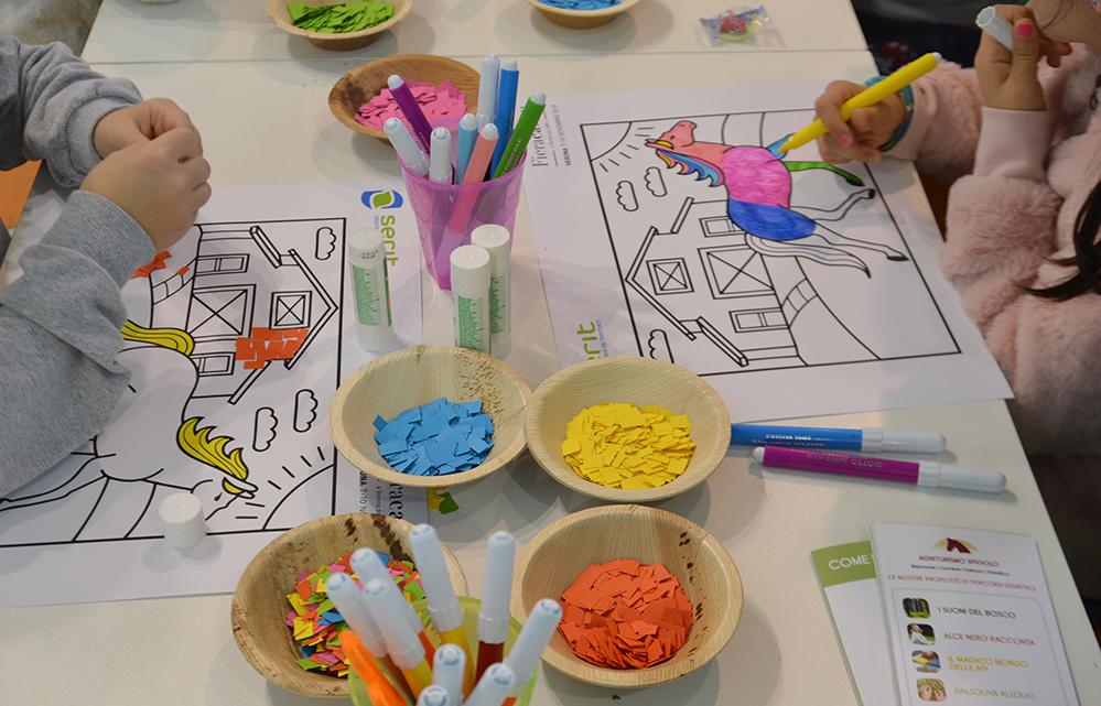 Centinaia di ragazzi delle scuole hanno partecipato ai laboratori didattici di Serit alla Fieracavalli