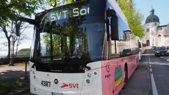 A Vicenza entrano in servizio ventuno nuovi autobus ecologici alimentati a gas metano
