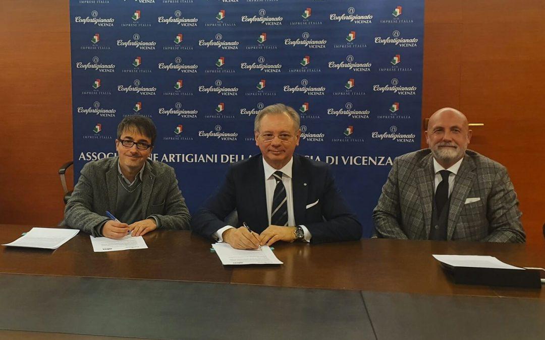 Confartigianato Imprese Vicenza e AIM Amcps hanno stipulato un accordo di collaborazione