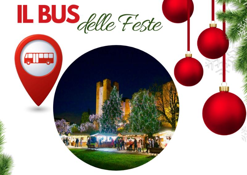 Tutti i giorni park e bus navetta gratuiti per le festività a Castelfranco Veneto