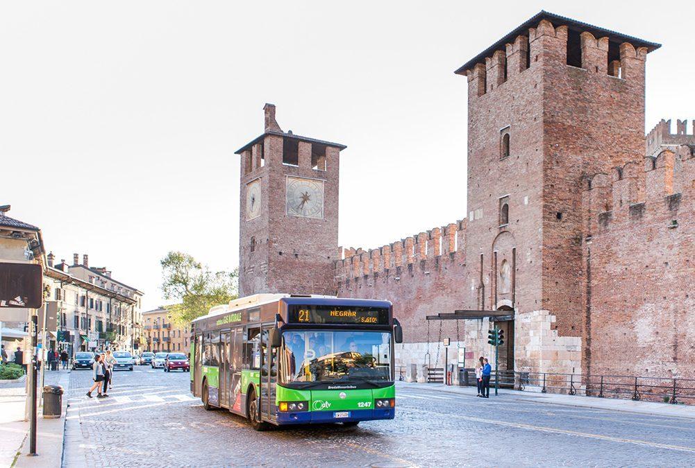 Nuove corse e deviazioni per alcune linee di autobus dell'Azienda Trasporti Verona