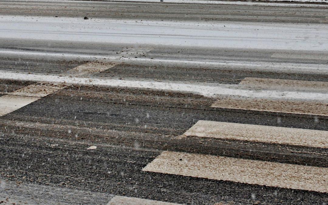 Temperature rigide: AIM Amcps impegnata nelle salature delle strade