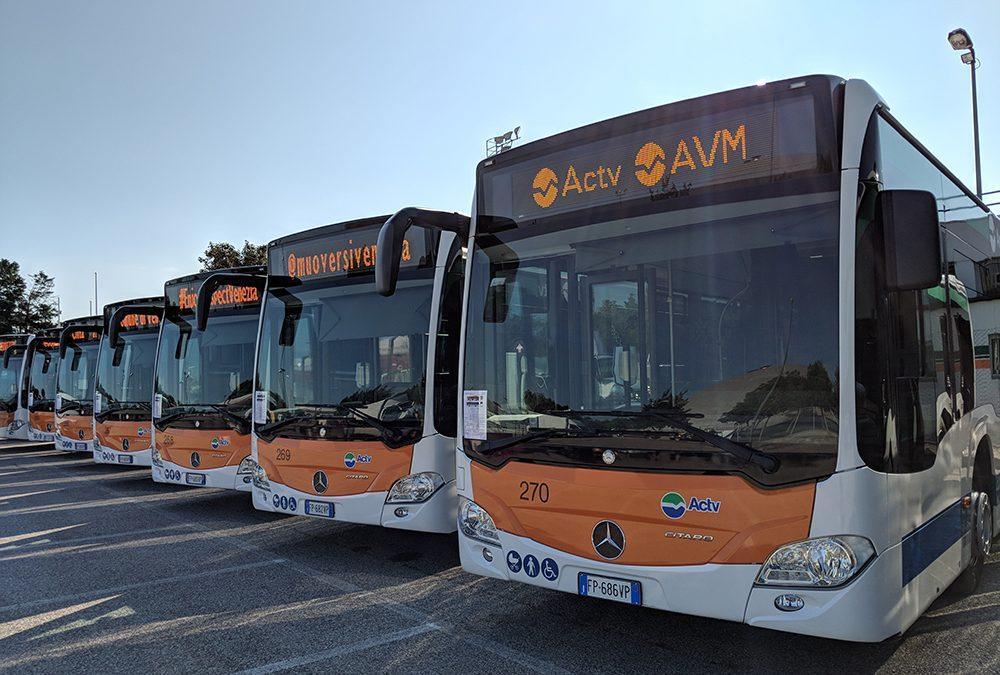 Deviazioni del trasporto pubblico locale da questa notte sino a domani mattina a Venezia