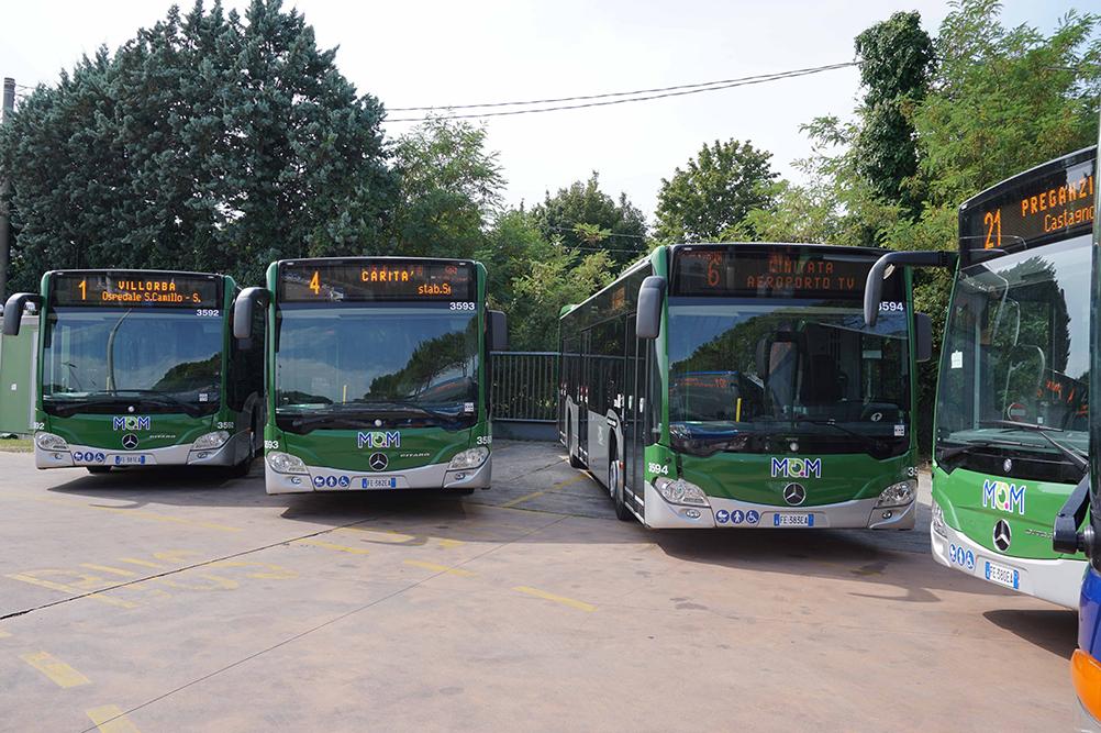 Mobilità di Marca dovrà variare altre quattro linee di bus nel fine settimana