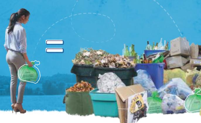 Tutti i dati sulle quantità di rifiuti e le percentuali di raccolta differenziata sul sito ASVO