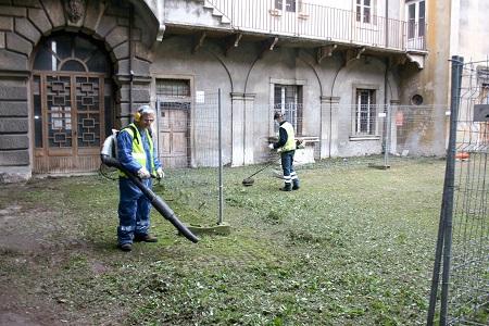 Gli interventi di manutenzione del verde pubblico sino al 15 marzo a Verona