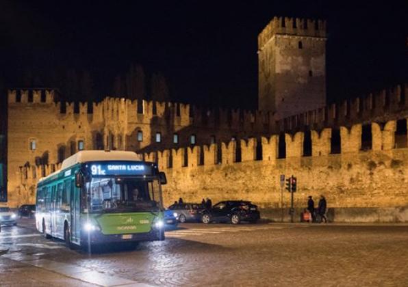 L'Azienda Trasporti Verona ha istituito oggi due fermate provvisorie in via del Capitel nel capoluogo scaligero