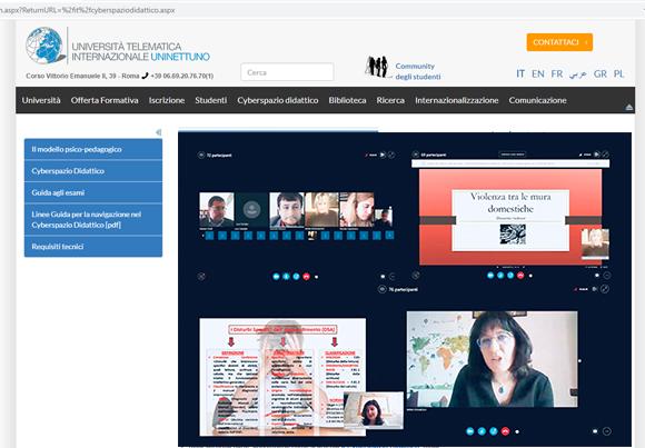 Covid-19: prime lauree online con l'Università Telematica Internazionale UniNettuno