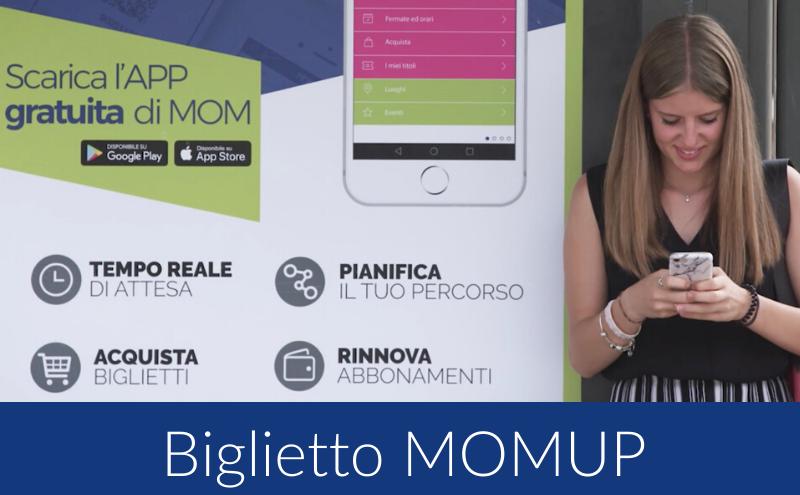 E' facile prenotare un appuntamento alle biglietterie MOM, ma è meglio fruire del sito internet e dell'apposita app