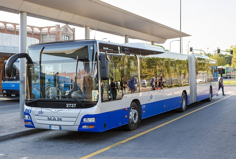 ATV Verona posticipa due corse dei bus delle linee 146 e 347 e cambia il percorso di quelli delle linee 227 e 228