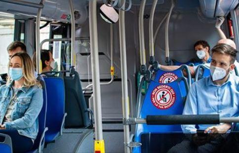 Comunicazione di ATV Verona sui posti disponibili negli autobus secondo l'ultima ordinanza regionale