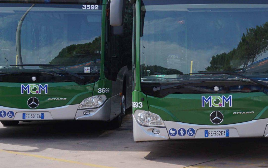 Annunciate a Paese e a Padova deviazioni di percorso e variazioni di fermata per i bus di Mobilità di Marca