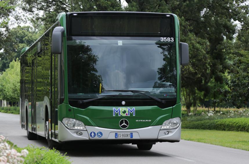 Mobilità di Marca ha limitato le corse dei bus della linea 127 a Vittorio Veneto a causa di una frana in via Fadalto Alto