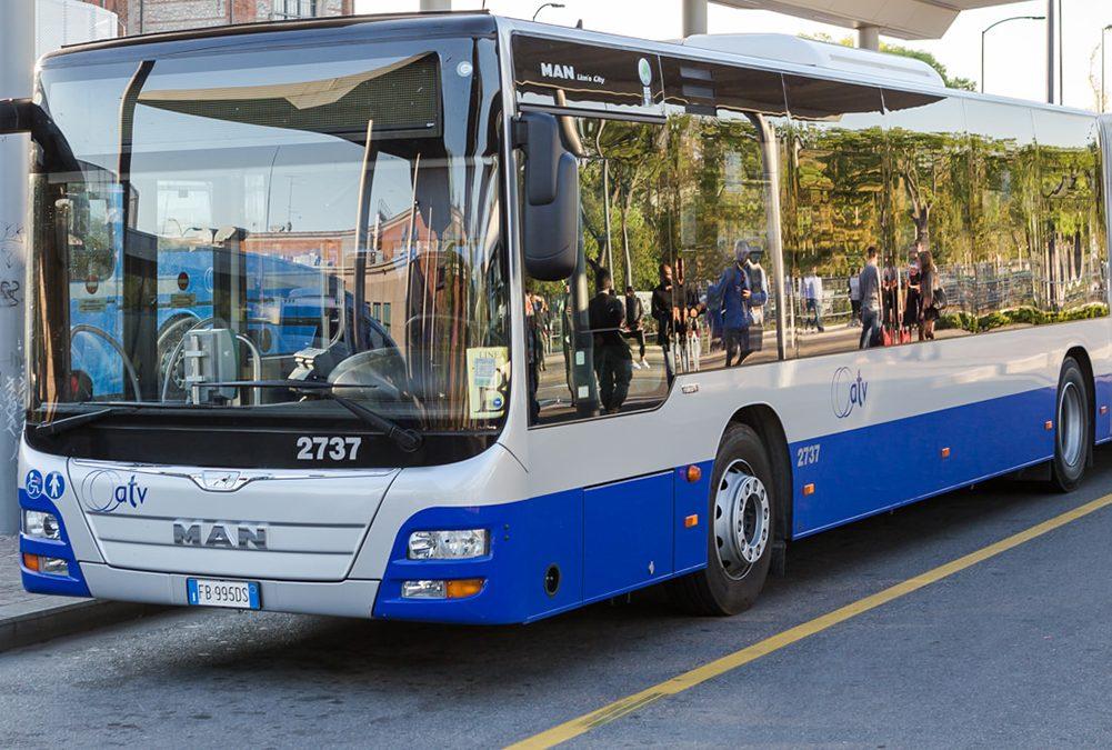 ATV ha segnalato la sospensione di alcune fermate degli autobus a Sommacampagna e a Verona