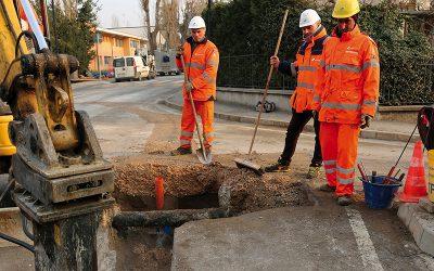 Acquevenete ha avviato i lavori sulla rete idrica a Due Carrare: 100 mila euro di investimento e 120 giorni di lavori