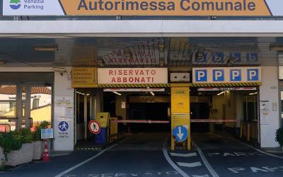 Per i diversamente abili prenotazione on line dei posti auto all'autorimessa comunale di Venezia