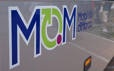 Fino al 30 agosto a Feltre in viale Montegrappa fermata provvisoria sostitutiva per le linee 123 e 126 di MOM