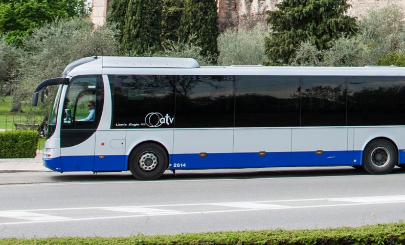 Sospesa da ATV una fermata dei bus a Villafranca di Verona a causa dell'istituzione di un divieto di transito per lavori