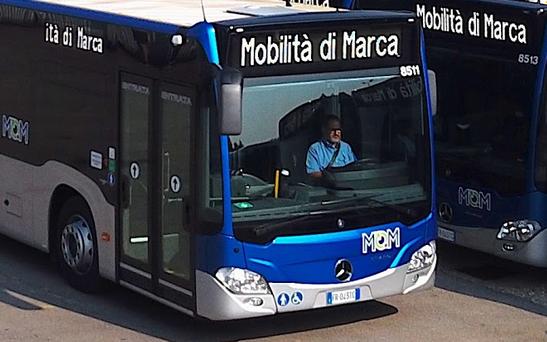 Mobilità di Marca ha comunicato una variazione di percorso dei bus a Segusino e le modifiche di alcuni orari