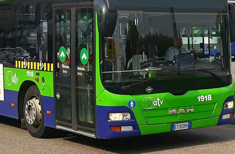 ATV Verona anticipa alle ore 7,10 la corsa 23 dei bus della linea 41 in partenza dal capolinea di Buttapietra