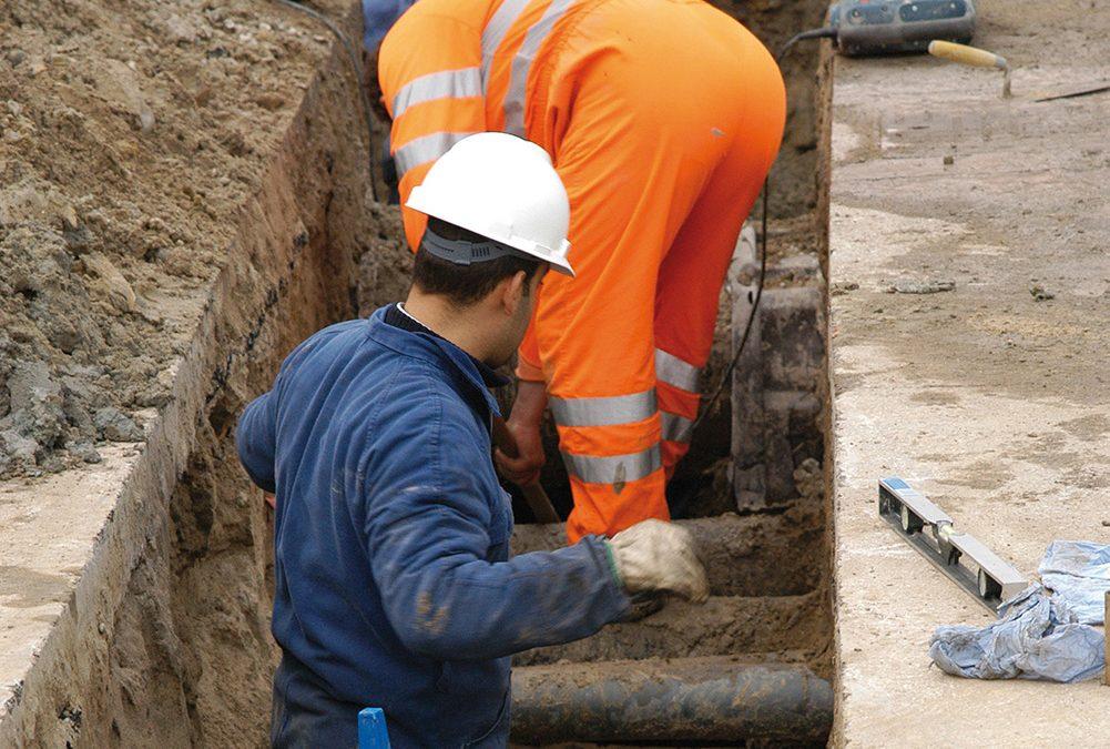 In corso i lavori per la seconda condotta di collegamento di pozzi del Moracchino con la centrale di viale Trento a Vicenza