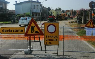 Nuovo cantiere di Acquevenete per estendere la fognatura in via Luigi Cotta a Lusia con un investimento di 540 mila euro