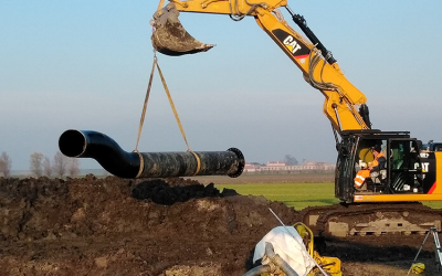 Acquevenete posa 23 chilometri e mezzo di nuove condotte idriche in Polesine per quasi tre milioni e mezzo di euro