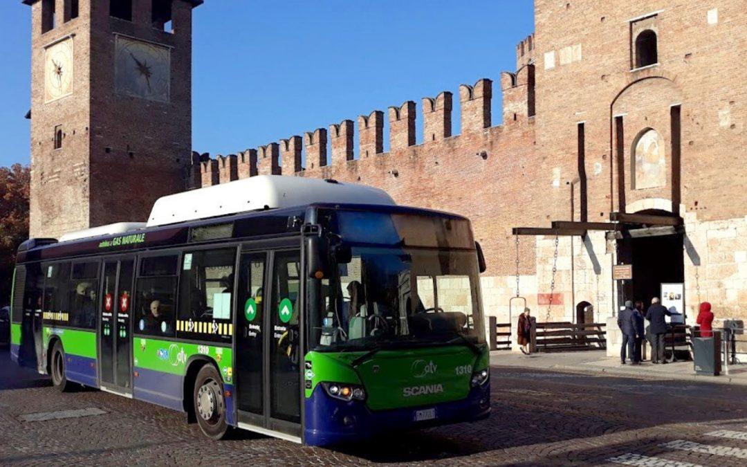 Variazioni di orario, deviazioni e fermate fuori servizio sono state annunciate dall'Azienda Trasporti Verona