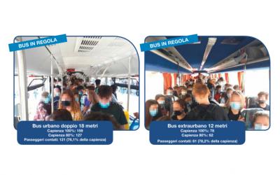 ATV Verona evidenzia il costante monitoraggio dei bus ai fini della sicurezza e segnala le deviazioni di alcune linee