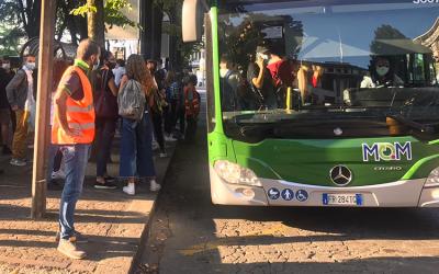 Questa settimana sono previste fermate alternative per i bus di Mobilità di Marca a Feltre e Pieve di Soligo