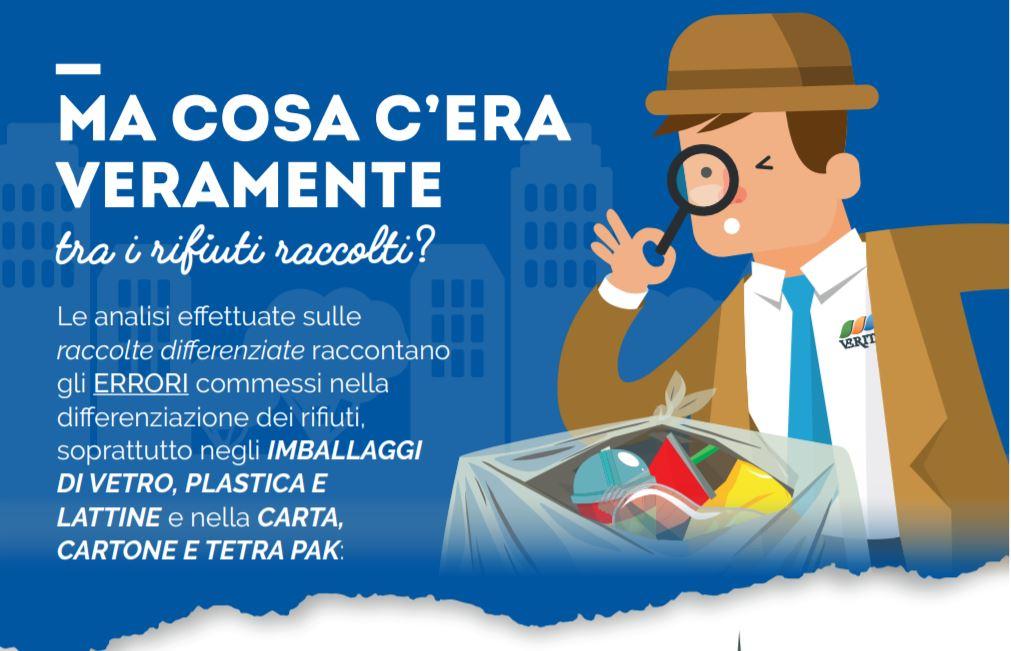 Veritas inserisce in bolletta volantini personalizzati per ogni singolo comune e invita i cittadini a fare bene la differenziata