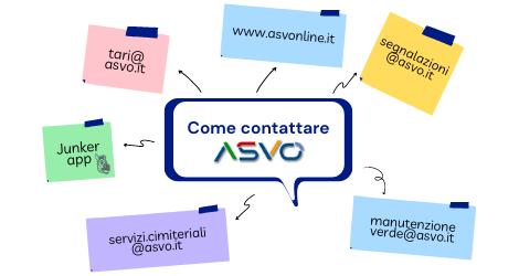 L'azienda Ambiente Servizi Veneto Orientale ricorda agli utenti come contattare gli uffici in tempo di Covid