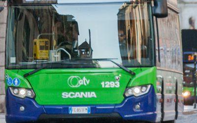 L'Azienda Trasporti Verona devia gli autobus della linea 91 e sospende provvisoriamente una fermata in via Poiano