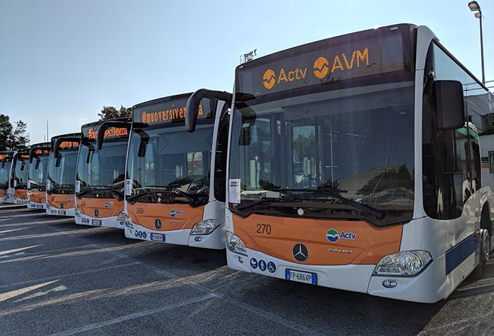 Ecco tutte le modifiche alle corse degli autobus per il Bomba Day di domenica mattina a Venezia Mestre